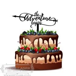 CT011 Cake topper - Adventure